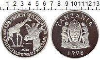 Каталог монет - монета  Танзания 2500 шиллингов