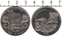 Каталог монет - монета  Майотта 1 франк