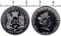 Каталог монет - монета  Тристан-да-Кунья 1 фунт