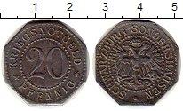 Каталог монет - монета  Шварцбург-Зондерхаузен 20 пфеннигов
