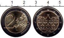 Каталог монет - монета  Литва 2 евро