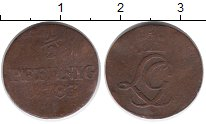 Каталог монет - монета  Шварцбург-Рудольфштадт 1/2 пфеннига