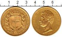 Каталог монет - монета  Сардиния 100 лир