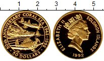 Каталог монет - монета  Соломоновы острова 50 долларов
