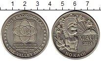 Каталог монет - монета  Гавайские острова 2 доллара