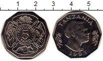 Каталог монет - монета  Танзания 5 тано