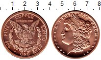 Каталог монет - монета  США 1 унция
