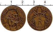 Каталог монет - монета  Ватикан 10 сольди
