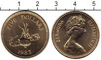 Каталог монет - монета  Бермудские острова 5 долларов