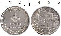 Каталог монет - монета  Непал 200 рупий