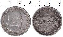 Каталог монет - монета  США 3 марки