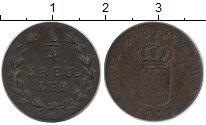 Каталог монет - монета  Баден 1/4 крейцера