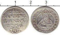 Каталог монет - монета  Бамберг 2 1/2 крейцера