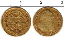 Каталог монет - монета  Испания 1/2эскудо