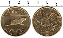 Каталог монет - монета  Северный Полюс Северный Полюс 2012