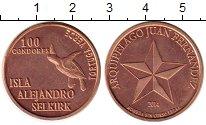 Каталог монет - монета  Чили 100 кондор