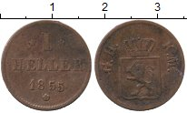 Каталог монет - монета  Гессен-Дармштадт 1 хеллер