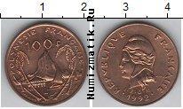 Каталог монет - монета  Полинезия 100 франков