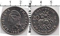 Каталог монет - монета  Полинезия 20 франков