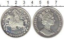 Каталог монет - монета  Гибралтар 25 фунтов