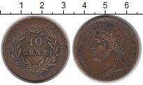 Каталог монет - монета  Мартиника 10 сентим