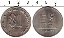 Каталог монет - монета  Малайзия 1 доллар