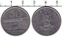 Каталог монет - монета  Парагвай 50 гуарани