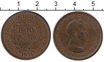 Каталог монет - монета  Боливия 10 боливар