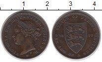 Каталог монет - монета  Остров Джерси 50 центов