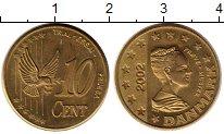 Каталог монет - монета  Дания 10 евроцентов