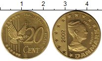 Каталог монет - монета  Дания 20 центов