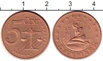 Каталог монет - монета  Дания 5 евроцентов