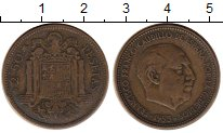 Каталог монет - монета  Испания 2,5 песеты