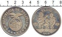 Каталог монет - монета  Боливия 200 боливиано