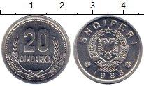 Каталог монет - монета  Албания 20 киндарка