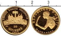 Каталог монет - монета  Гаити 20 гурде