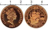 Каталог монет - монета  Олдерни 25 долларов