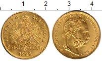 Каталог монет - монета  Австрия 1/2 соверена