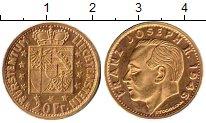 Каталог монет - монета  Лихтенштейн 20 франков