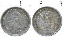 Каталог монет - монета  Эквадор 1/2 динеро