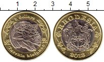 Каталог монет - монета  Родезия 5 долларов