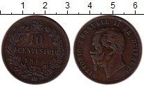 Каталог монет - монета  Италия 10 сентесимо