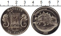 Продать Монеты Майотта 1 франк 2019 Медно-никель