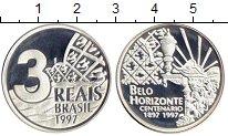 Каталог монет - монета  Бразилия 3 реала