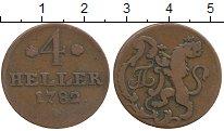Каталог монет - монета  Гессен-Кассель 4 хеллера