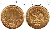 Каталог монет - монета  Мексика 1 песо