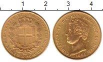 Каталог монет - монета  Сардиния 20 лир