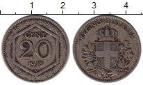 Каталог монет - монета  Италия 20 центов