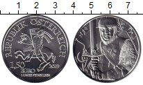 Каталог монет - монета  Австрия 1 1/2 евро