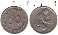 Каталог монет - монета  ГДР 50 пфеннигов